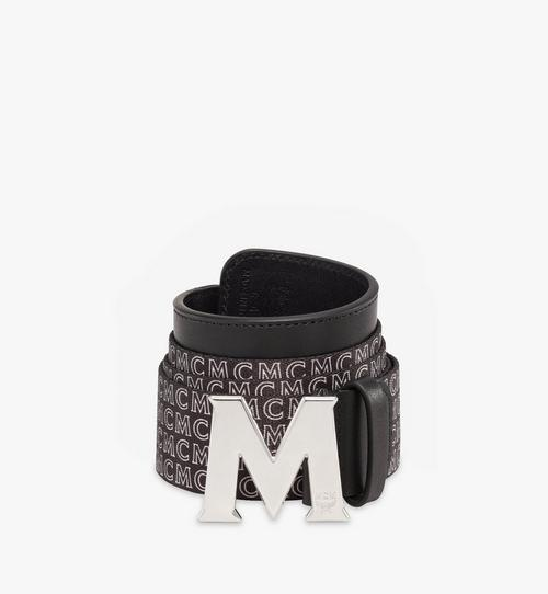 Claus M Monogram Webbing Belt 1.5""