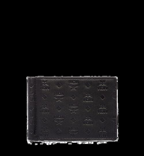 組合圖案皮革的 Sigmund 鈔票夾