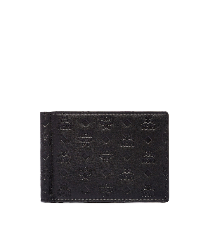 MCM Sigmund Money Clip in Monogram Leather Alternate View