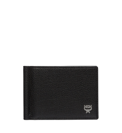 Ottomar Money Clip in Grained Leather