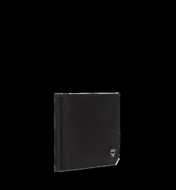 MCM New Bric 經典壓花皮革錢夾皮夾 Black MXC8ALL45BK001 Alternate View 2