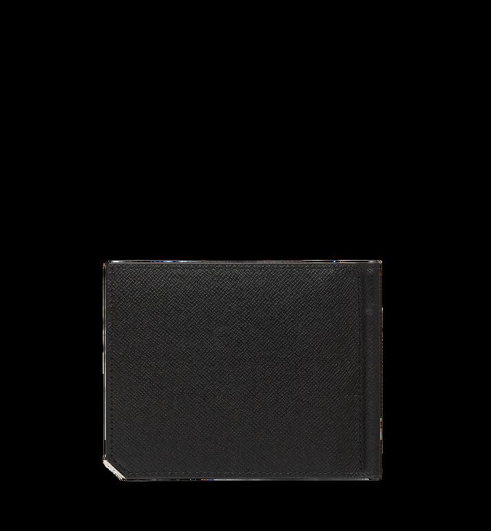 MCM New Bric 經典壓花皮革錢夾皮夾 Black MXC8ALL45BK001 Alternate View 3