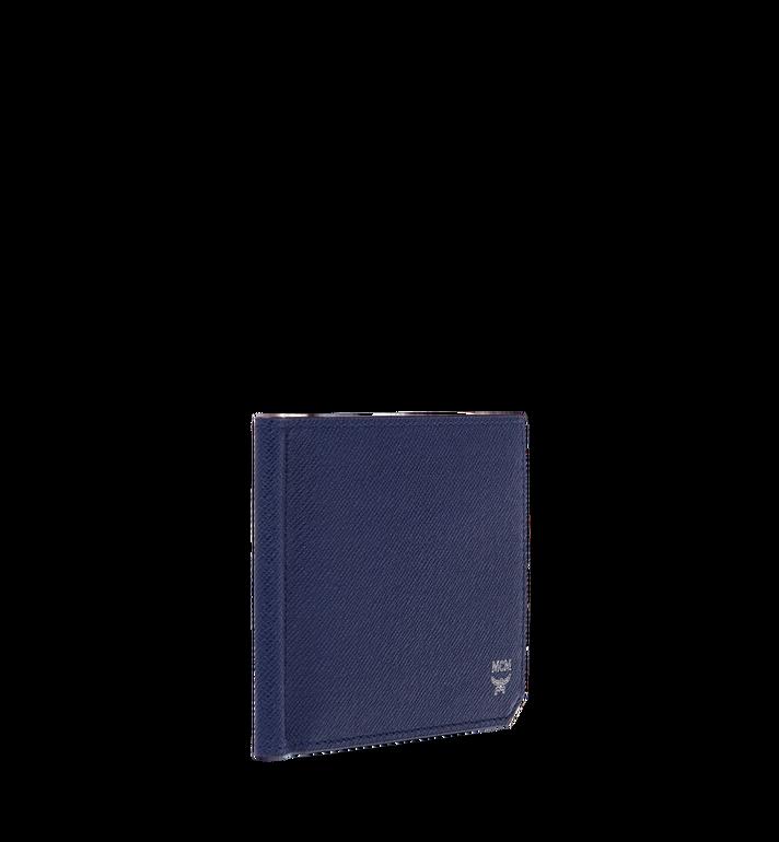 MCM กระเป๋าสตางค์คลิปธนบัตร New Bric ทำจากหนังอัดลาย Navy MXC8ALL45VY001 Alternate View 2