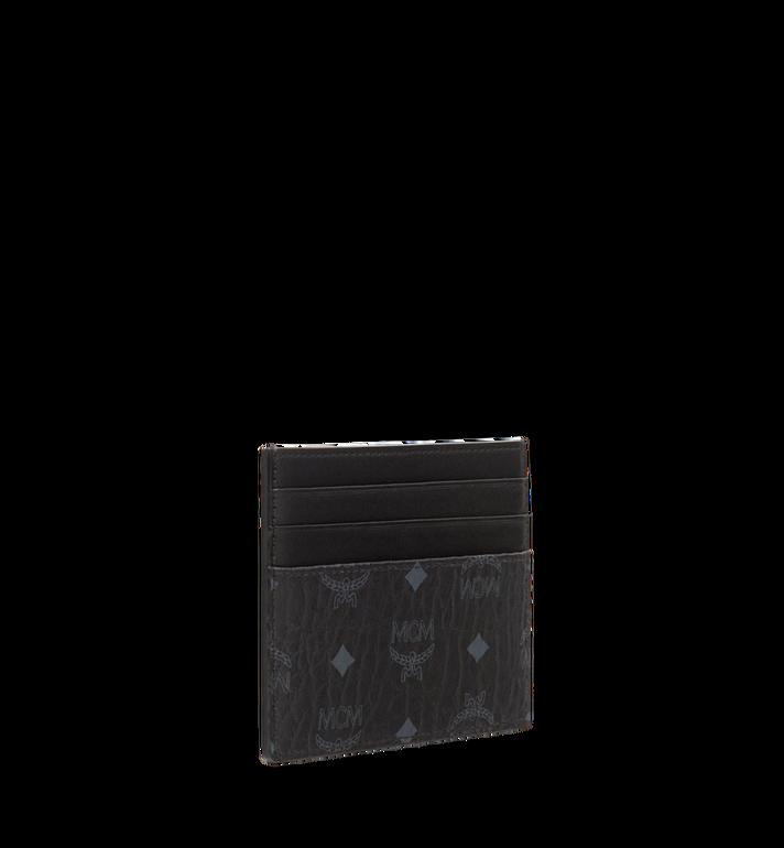 MCM Kartenetui mit Geldclip in Visetos Original  MXC8AVI65BK001 Alternate View 2