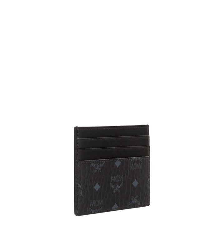 MCM Money Clip Card Case in Visetos Original Alternate View 2