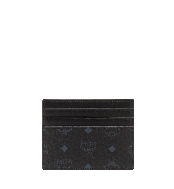 MCM Kartenetui mit Geldclip in Visetos Original  MXC8AVI65BK001 Alternate View 3