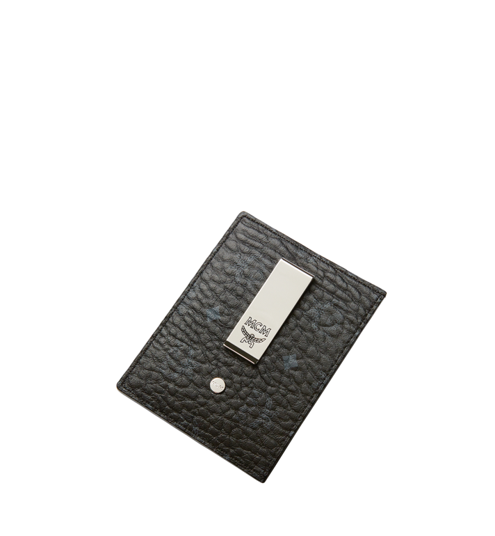 MCM Money Clip Card Case in Visetos Original Alternate View 4