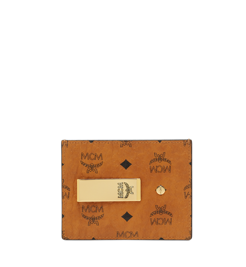 Money Clip Card Case in Visetos Original