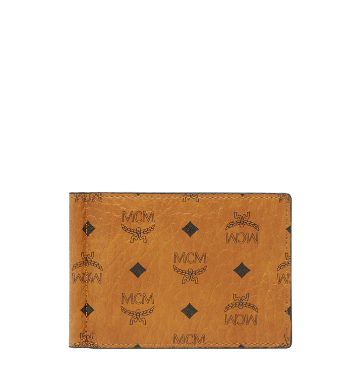 MCM Claus Money Clip in Visetos Cognac MXC8SVI67CO001 Alternate View 1