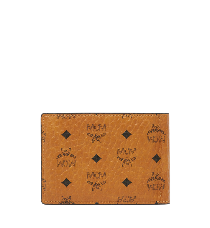 MCM Claus Money Clip in Visetos Cognac MXC8SVI67CO001 Alternate View 3