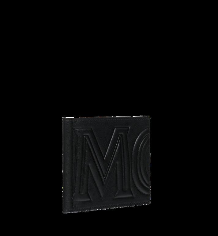 MCM Brieftasche mit Geldscheinklammer und MCM Injection Logo Black MXC9SCL03BK001 Alternate View 2