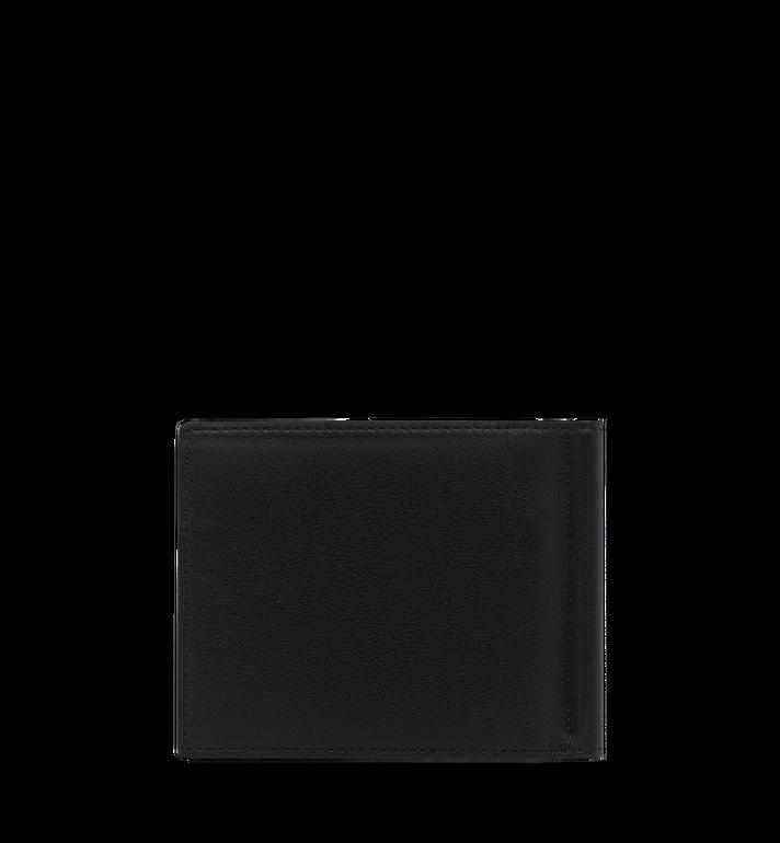 MCM Brieftasche mit Geldscheinklammer und MCM Injection Logo Black MXC9SCL03BK001 Alternate View 3