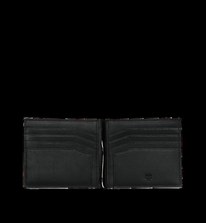MCM Brieftasche mit Geldscheinklammer und MCM Injection Logo Black MXC9SCL03BK001 Alternate View 4
