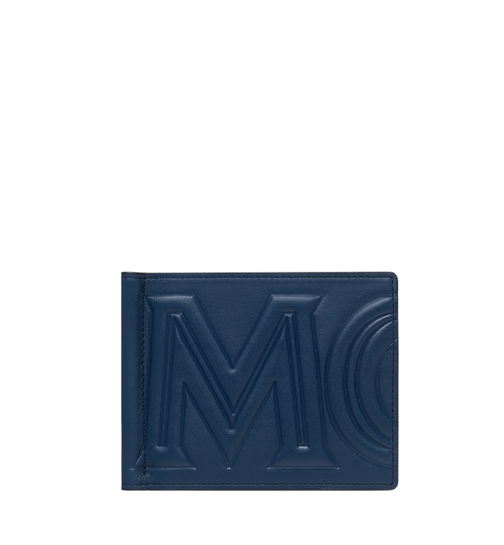 MCM Portefeuille avec pince à billets en MCM Injection Logo Alternate View