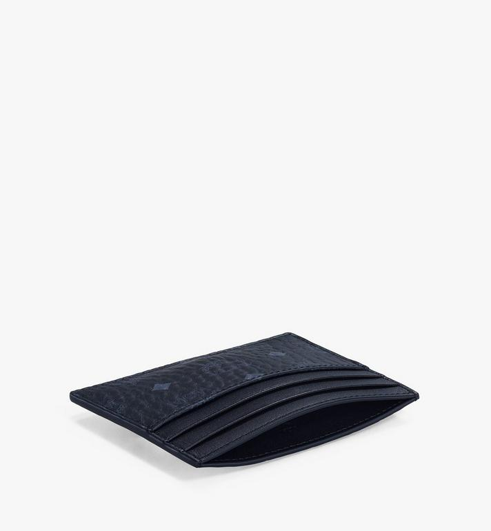 MCM Money Clip Card Case in Visetos Original Black MXCAAVI02BK001 Alternate View 3