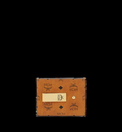 Porte-cartes avec pince à billets en Visetos Original