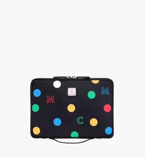 Étui pour iPad 11pouces en nylon à pois