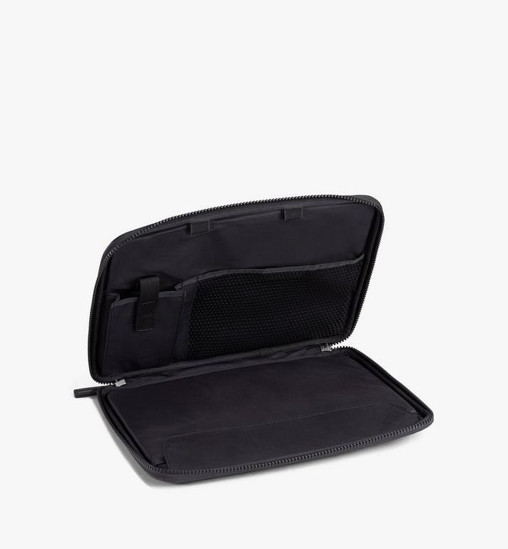 """MCM 13"""" iPad Case in Visetos Original Black MXEAAVI03BK001 Alternate View 2"""