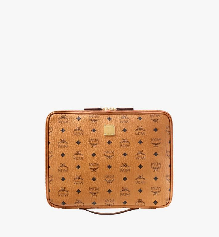 MCM เคส iPad ขนาด 13 นิ้ว ลาย Visetos Original Cognac MXEAAVI03CO001 Alternate View 1