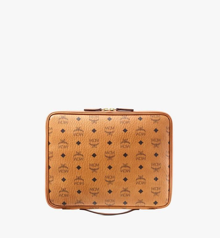 MCM เคส iPad ขนาด 13 นิ้ว ลาย Visetos Original Cognac MXEAAVI03CO001 Alternate View 4