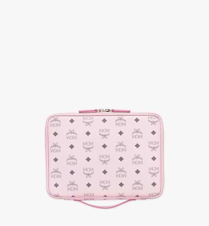 """MCM 11"""" iPad Case in Visetos Original Pink MXEAAVI04QH001 Alternate View 3"""