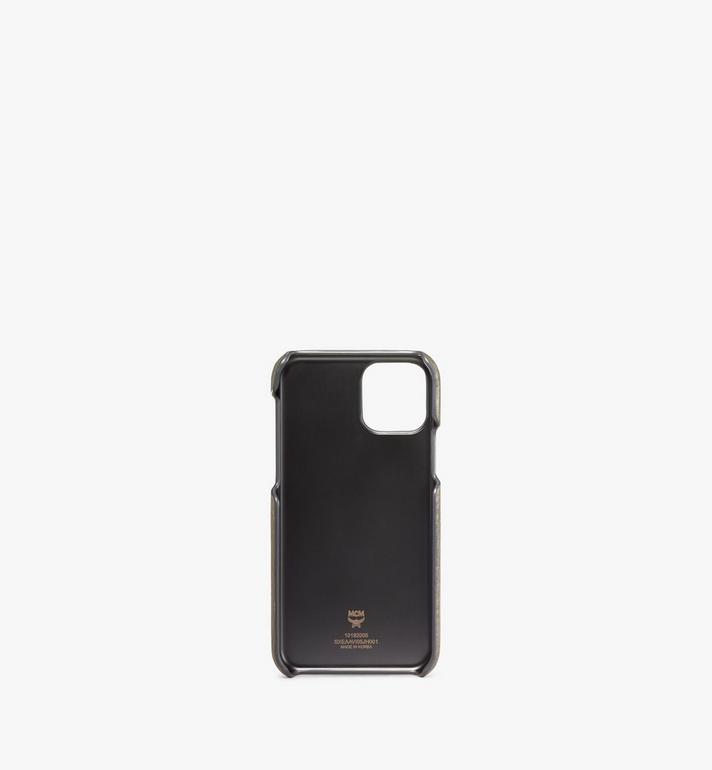 MCM iPhone 11 Pro Case in Visetos Original Green MXEAAVI05JH001 Alternate View 2