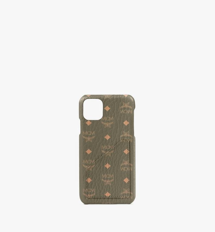MCM iPhone 11 Pro Max Case in Visetos Original Alternate View