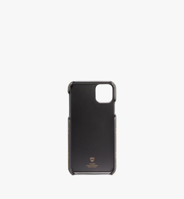 MCM iPhone 11 Pro Max Case in Visetos Original Green MXEAAVI06JH001 Alternate View 2
