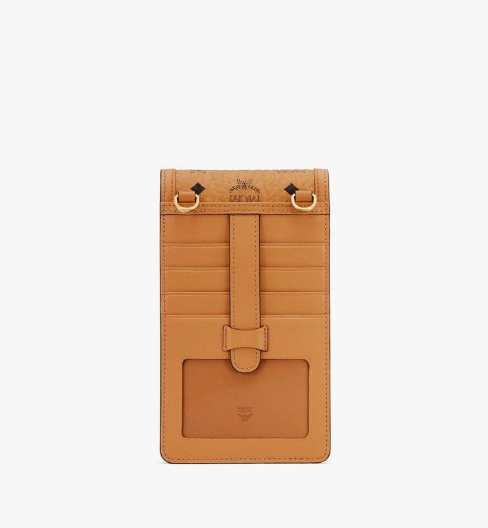 MCM Crossbody Phone Case in Visetos Cognac MXEASVI03CO001 Alternate View 3