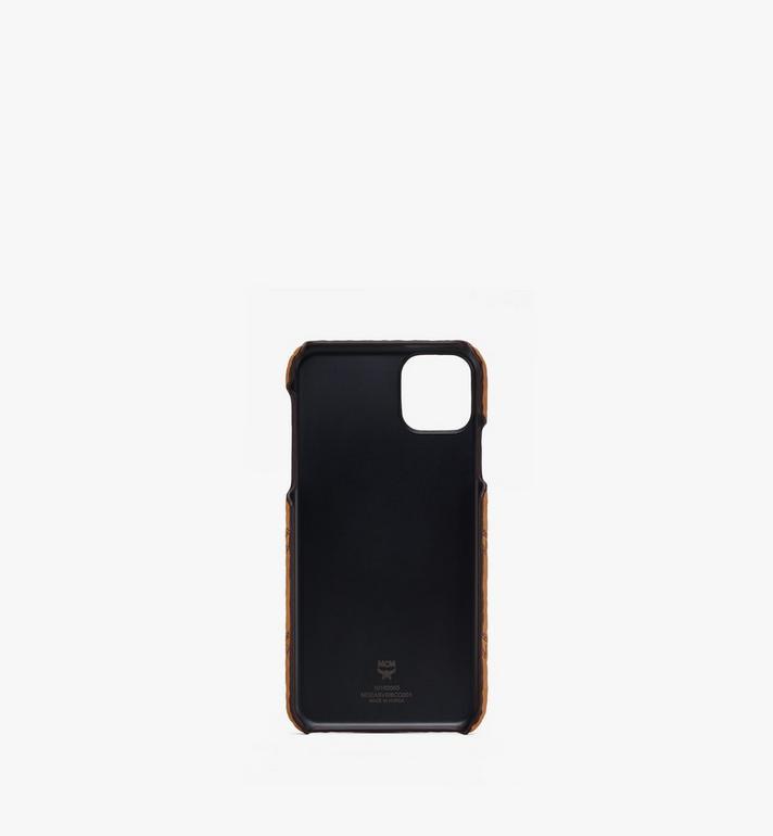 MCM iPhone 11 Pro Max Case in Visetos Cognac MXEASVI08CO001 Alternate View 2
