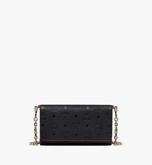 กระเป๋าสตางค์หนังโมโนแกรมอเนกประสงค์ใส่โทรศัพท์มือถือ Klara