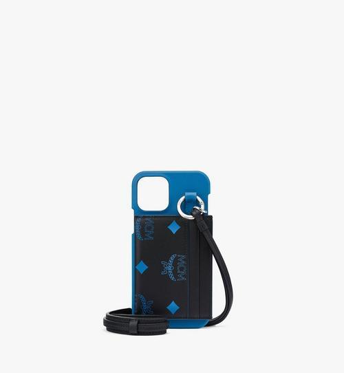 iPhone12/12Pro Smartphonehülle mit Schlüsselband und Kartenetui