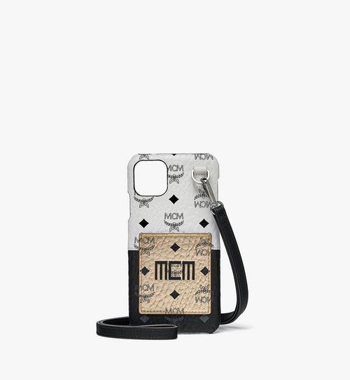 Visetos 混合皮革 iPhone 11 Pro Max 手機保護套