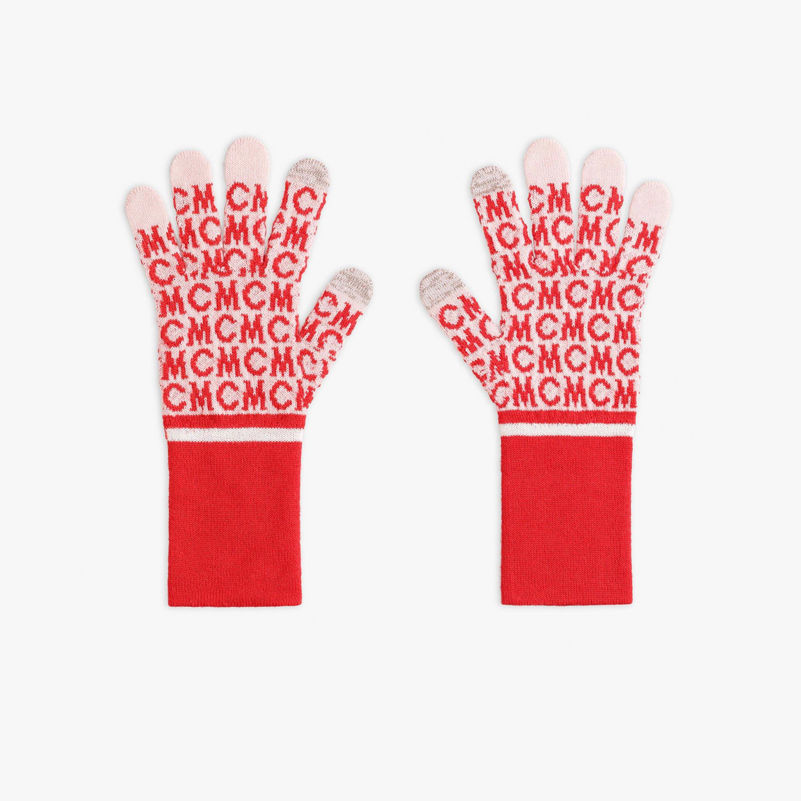 MCM Monogram Wool Gloves