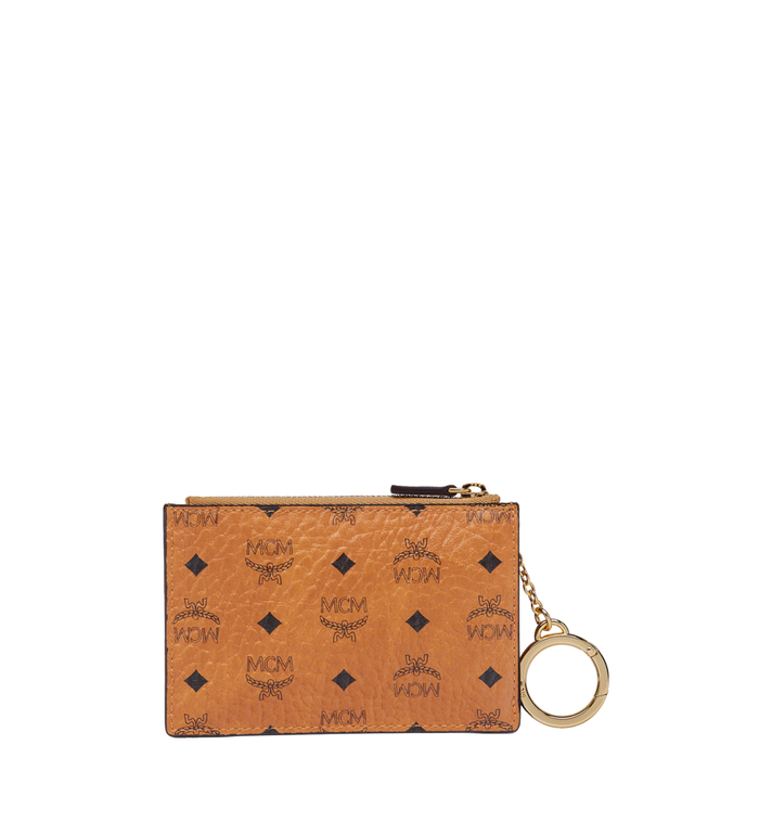 MCM Key Pouch in Visetos Original Cognac MXKAAVI01CO001 Alternate View 3