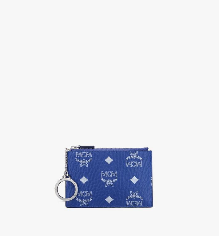 MCM กระเป๋าเพาช์ใส่กุญแจลาย Visetos Alternate View