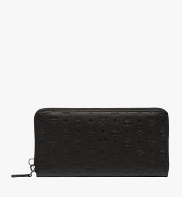 Sigmund Zip Around Wallet in Monogram Leather
