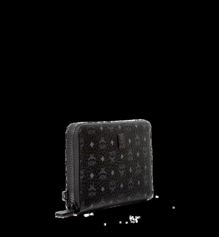 MCM Portefeuille pour passeport à fermeture éclair avec dragonne collection Travel Alternate View 2