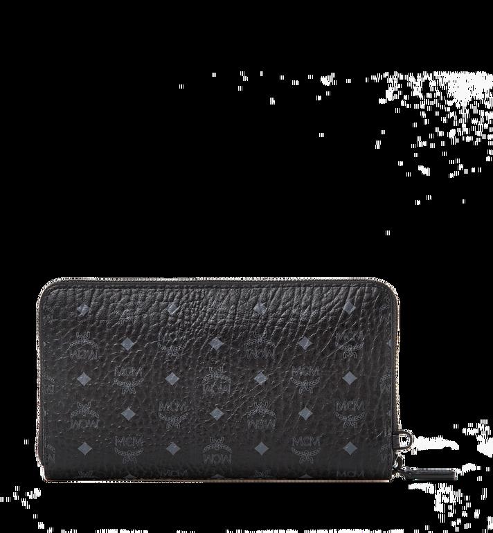 MCM Zip Around Passport Wristlet Wallet in Visetos Alternate View 3