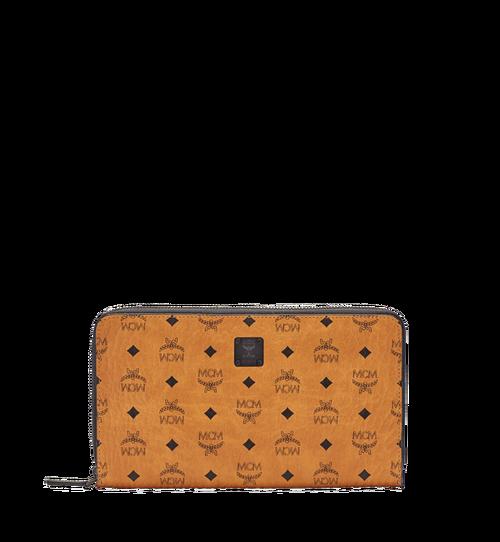 Travel-Kollektion Reisepass-Brieftasche mit Rundum-Reißverschluss und Handgelenksband