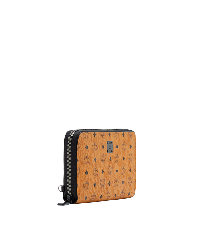 MCM MCM Travel Collection Passport Wallet Cognac MXL6SHE08CO001 Alternate View 2