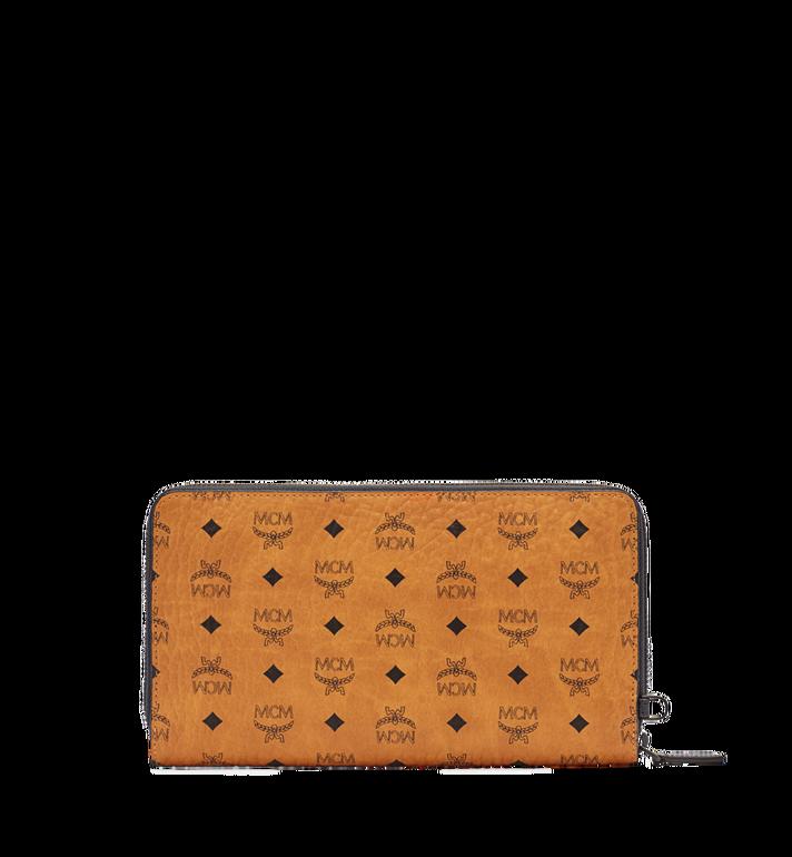 MCM MCM Travel Collection Passport Wallet Cognac MXL6SHE08CO001 Alternate View 3