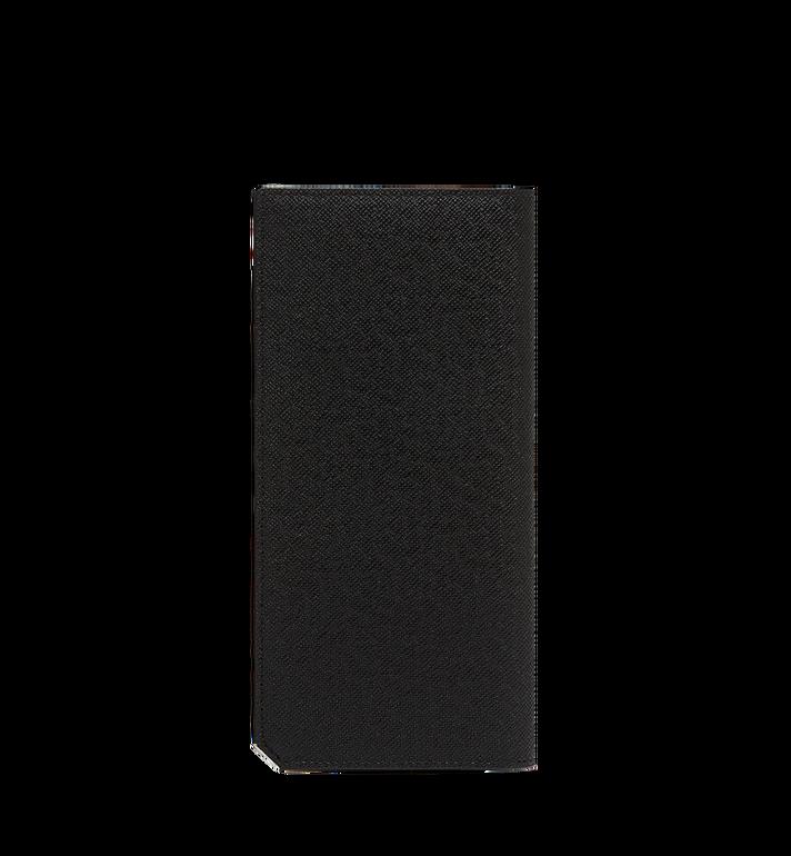 MCM New Bric 長款經典壓花皮革兩折式皮夾 Black MXL8ALL50BK001 Alternate View 3