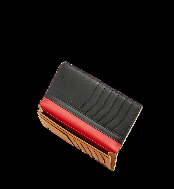 MCM New Bric 長款經典壓花皮革兩折式皮夾 Black MXL8ALL50BK001 Alternate View 5