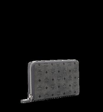 MCM Brieftasche mit Rundum-Reissverschluss in Visetos Original Alternate View 2