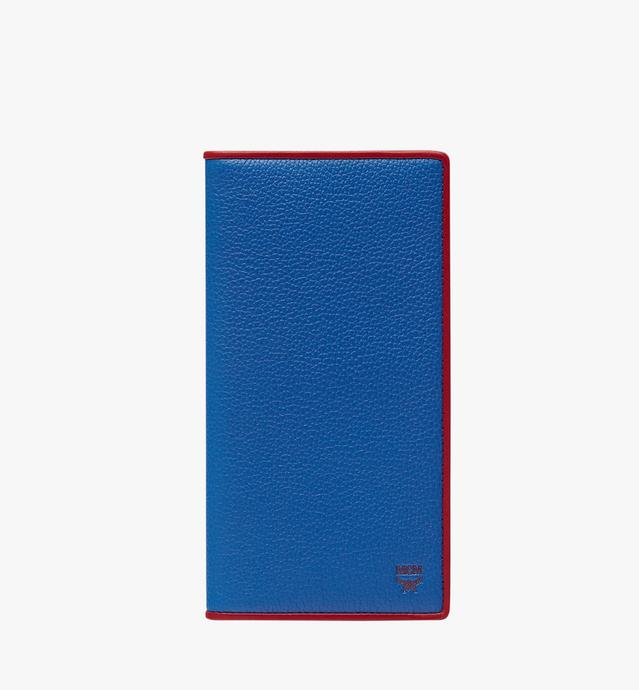 Coburg Long Bifold Wallet in Tipped Leather