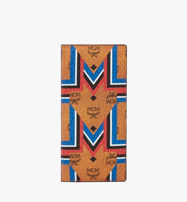 Long Bifold Wallet in Gunta M Stripe Visetos