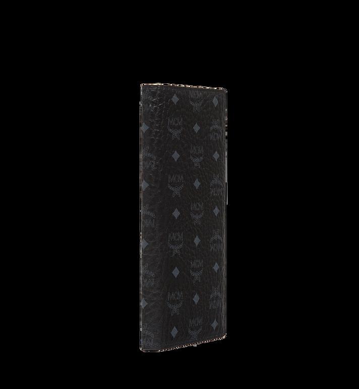 MCM กระเป๋าสตางค์พับสองทบแบบยาวลาย Visetos Original Black MXL8SVI70BK001 Alternate View 2