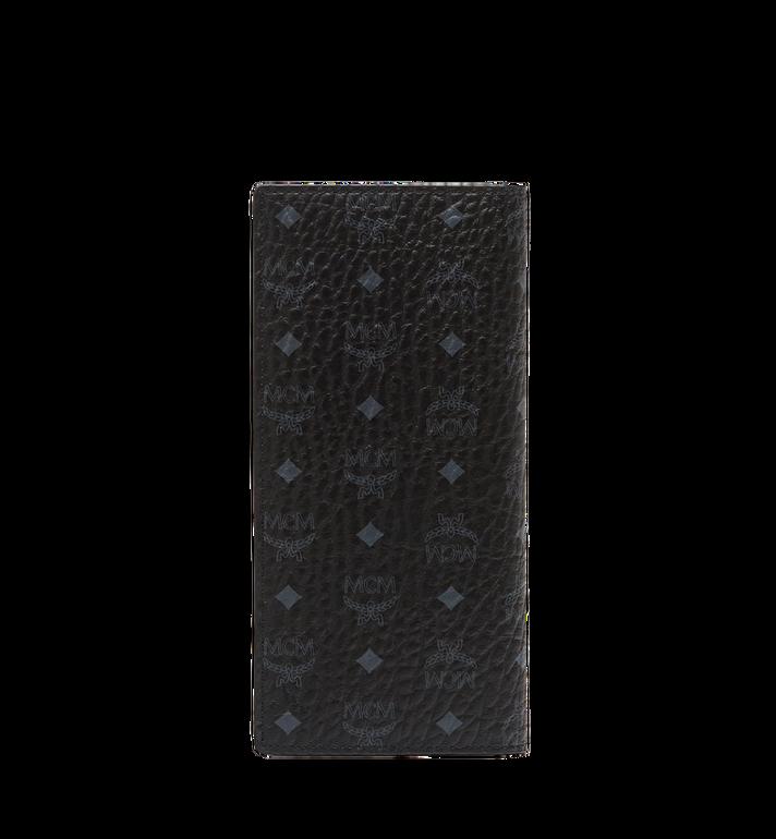 MCM กระเป๋าสตางค์พับสองทบแบบยาวลาย Visetos Original Black MXL8SVI70BK001 Alternate View 3