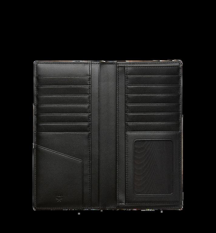 MCM Original lange gefaltete Brieftasche in Visetos Black MXL8SVI70BK001 Alternate View 4